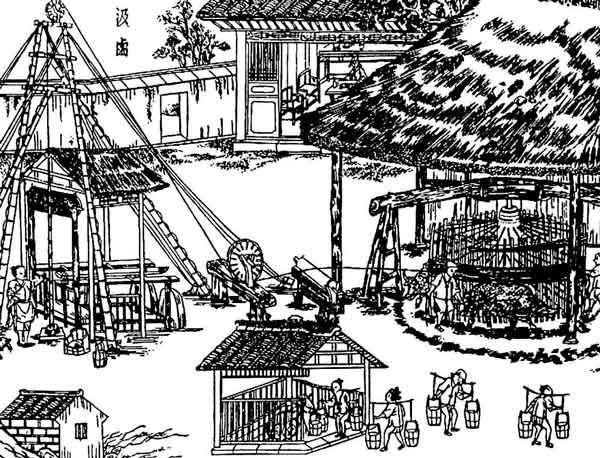 Бурение вДревнем Китае